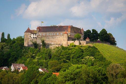 Stettenfels Castle, Untergruppenbach, Castle, Fortress