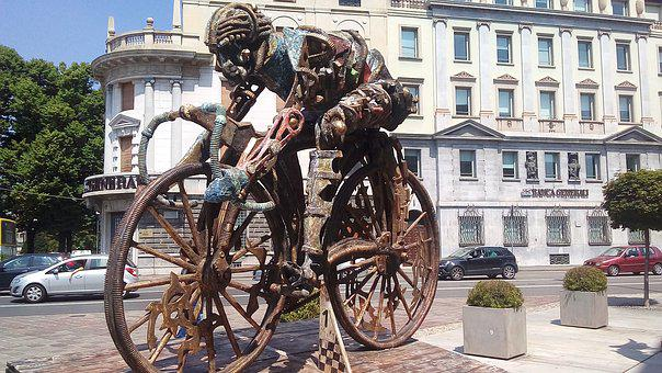 Bergamo, Cycling, Cyclist, The Giro D'italia, Bicycle