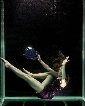 Time, Blue, Unbelievable, Model, Women's, Composition