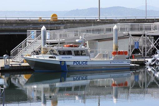 Police, Boat, Emergency, Marine, Patrol, Coast, Vessel