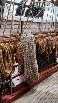 Rope, Ropes, Boat, Boating, Cable, Line, Marine, Hemp