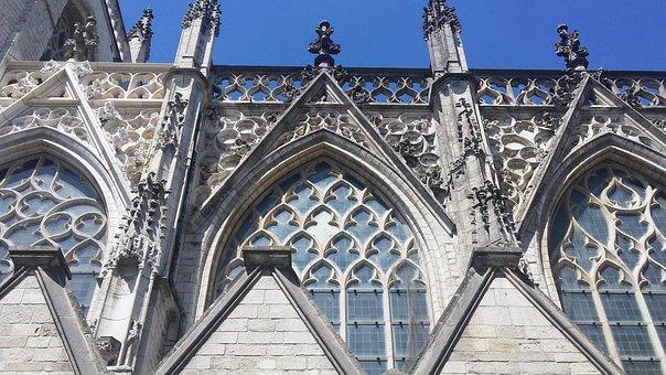 Breda, Church, Architecture, Facade, Historical