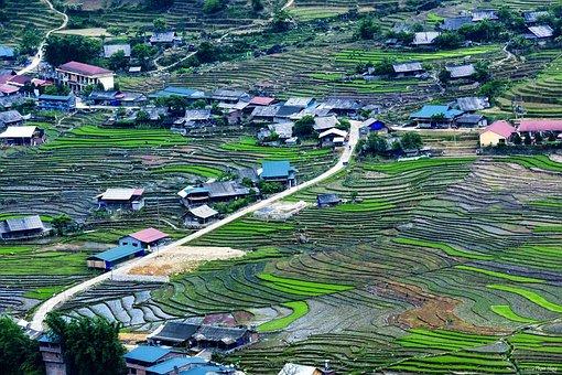 Scenery, Description Valve, Sapa, Vietnam