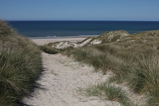 Dune, Dunes, Sand Dunes, Sand, Nature, Wide, Sunlight