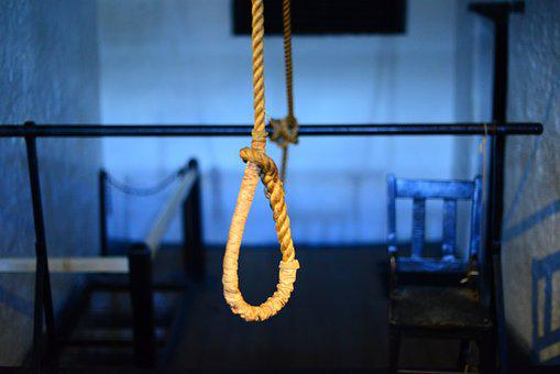 Suicide, Hangman Noose, Death, Execution, Knot, Rope