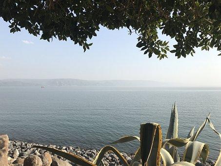 Israel, Galilee Sea Of, Landscape
