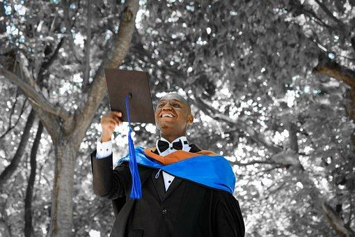 Graduation, Ceremony, Joy, University, Graduate