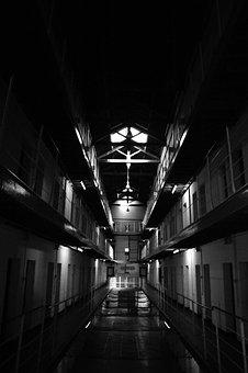Fremantle, Prison, Black And White, Gaol, Heritage