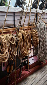 Rope, Ropes, Boat, Boating, Cable, Line, Marine