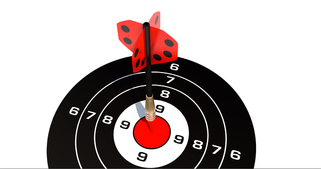 Darts, Target, Bull's Eye, Arrow, Delivering, Middle