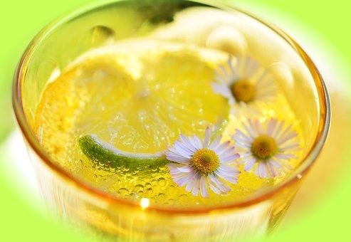 Lime, Erfrischungsgetränk, Detox, Mineral Water