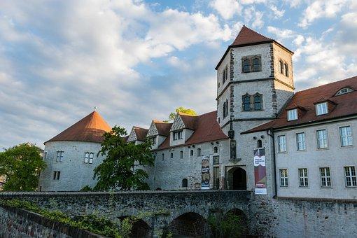 Moritz Castle, Hall, Halle Germany, Saxony-anhalt