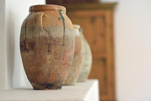 Interior Design, Pots, Neutral Color