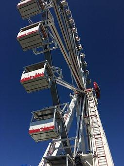 Ferris Wheel, Travemünde, Summer, Baltic Sea