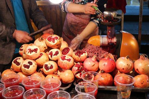 Pomegranate, Gourmet, Warmth, Work