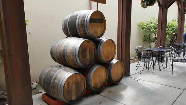 Wine Barrels, Winery, Cask, Alcohol, Winemaking