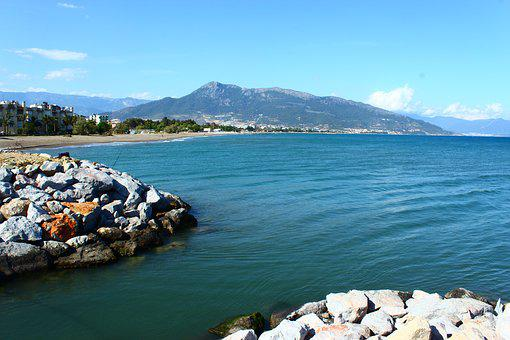 Mediterranean, Anamur Mersin, Coastal, Landscape