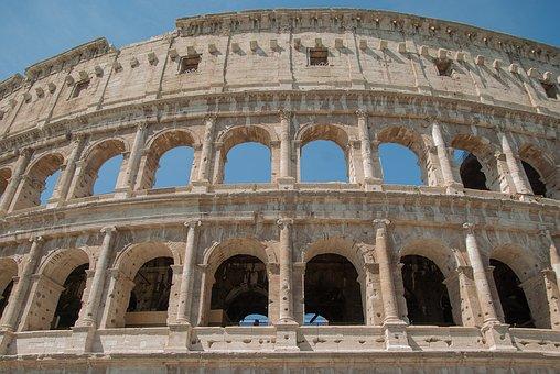 Rome, Coliseum, Amphitheater, Antique, Arena