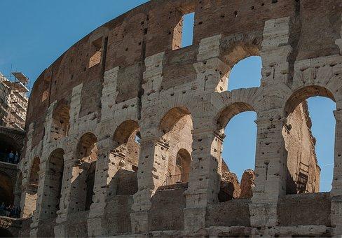 Rome, Coliseum, Amphitheater, Gladiator, Arena
