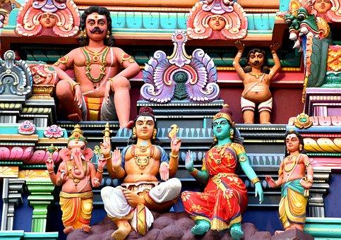 Hindu, Panchalingeshwara, Temple, Bangalore, Tourist