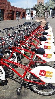 Antwerp, Cycling, Stabling, Bicycle, Station, Belgium