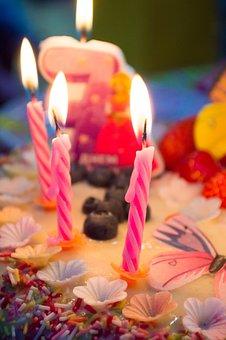 Birthday, Cake, Candles, Celebration, Birthday Cake