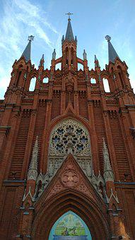 Cathedral, Catholic Cathedral, Church, Temple