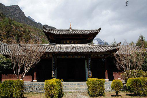 Building, Chinese Style, Ancient Times