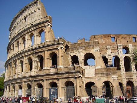 Rome, Colosseum, Italy, Roman Coliseum, Europe