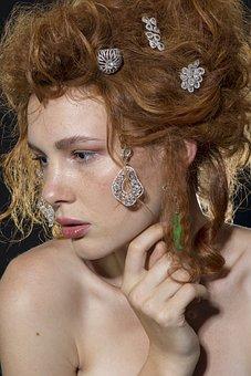 Model, Mannequin, Jewelry, Woman, Beautiful, Earrings