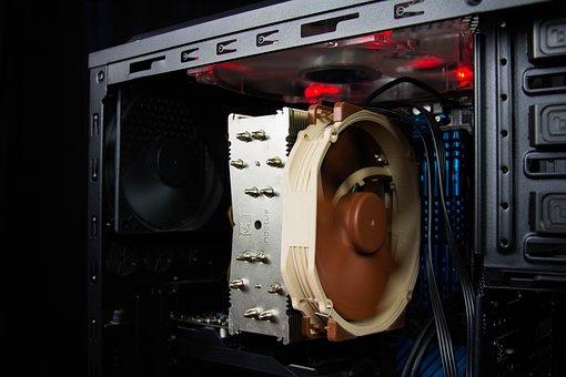 Pc, Computer, Computer Part, Cpu Cooler, Fan, Cpu Fan
