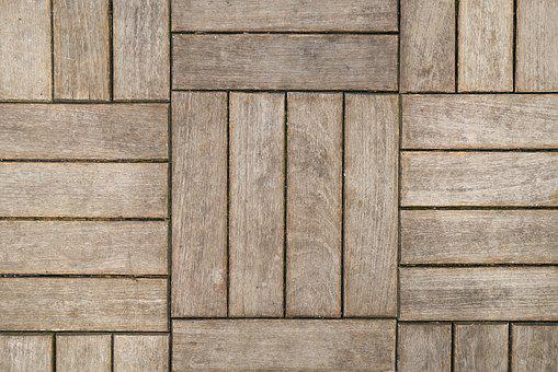 Wood, Wood-fibre Boards, Square, Line, Perspective
