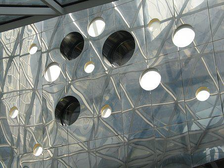 Mirror, Circle, Round, Architecture, Mirrored