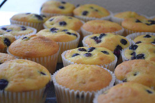 Blue Berry Muffin, Blue Berry, Muffin