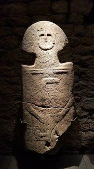 Statues, Stele, Lunigiana, Pontremoli, Tuscany, Italy