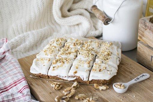 Carrot Cake, Cake, Dessert, Food, Sweet, Bakery, Pastry