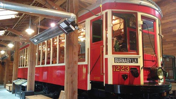 Tram, Museum, Vancouver, Burnaby, Canada