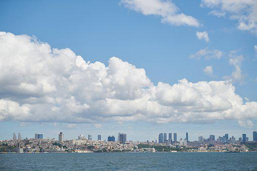 Landscape, Istanbul, Turkey, Peace, Marine, Blue, Cloud