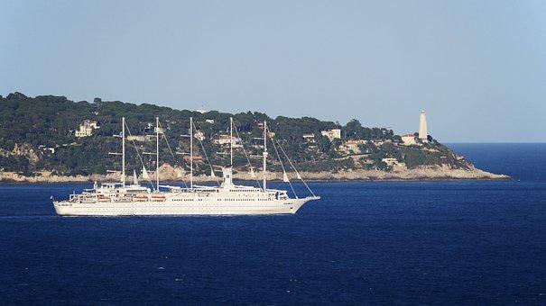 Mediterranean, Cap Ferrat, Nice, Villefranche-sur-mer