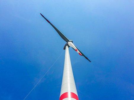 Wind Power, Wind, Pinwheel, Wind Turbine