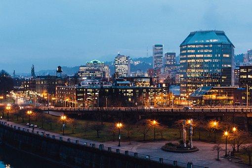 Portland, Pdx, Oregon, Northwest, United, America, Usa