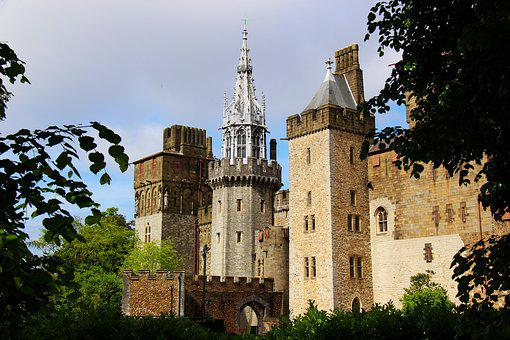 Castle, Architecture, Building, Old, Medieval, Tower