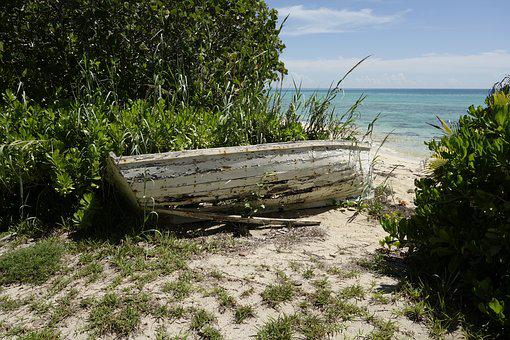 Boat, Beach, Anda