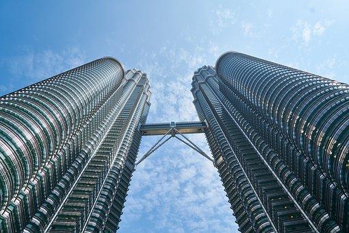 Malaysia, Building, Kuala Lumpur, City, Composition