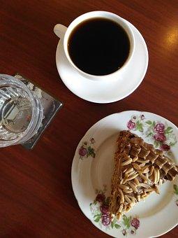 Coffee, Coffee Time, Coffee And Cake, Cake, Sansrival