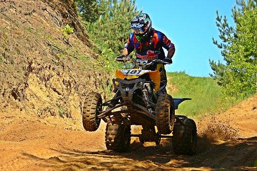Quad, Motocross, Enduro, Atv, Cross, Race, Motorcycle
