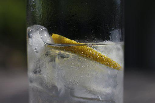 Drink, Lemon, Glass, Refreshment, Sour, Water, Thirst
