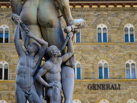 Florence, Italy, Sculpture, Statue