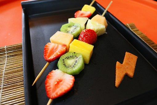 Fruit, Fruit Salad, Healthy, Fresh, Strawberry, Kiwi
