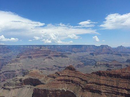 Grand Canyon, Canyon, Gorge, Arizona, Geological, Grand